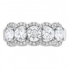 New Hearts On Fire® 1.50 CTW Diamond Halo Band