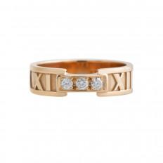 Vintage Tiffany & Co. 0.30 CTW Diamond Atlas Ring