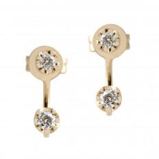 New Venetti 0.24 CTW Diamond Stud Earrings