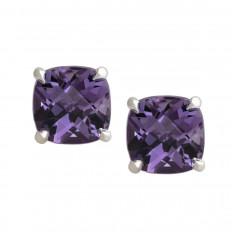 Vintage Tiffany & Co. Amethyst Sparklers Stud Earrings