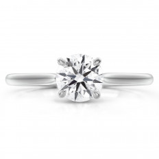 New Hearts On Fire® 0.17 CTW Diamond Camilla Engagement Ring