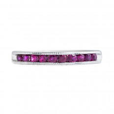 Vintage 0.47 CTW Ruby Band