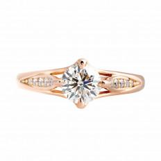 Vintage 0.93 CTW Diamond Engagement Ring