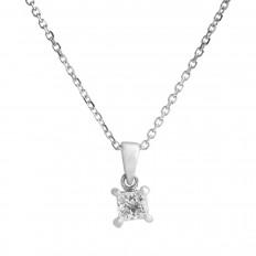 Vintage 0.30 CT Diamond Necklace