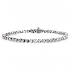 New Hearts On Fire® 4.34 CTW Diamond Select Temptation Bracelet