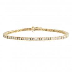 Vintage 4.10 CTW Diamond Tennis Bracelet