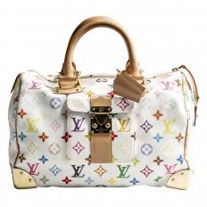 Vintage Louis Vuitton Multi-color Monogram Speedy Bag