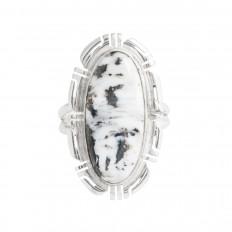 Vintage Native American Howlite Ring