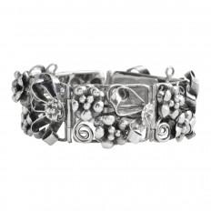 Antique Hobe Floral Bracelet