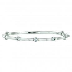 New Hearts On Fire® 0.16 CTW Diamond Copley Bangle Bracelet