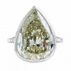 Antique 9.58 CTW Diamond Ring