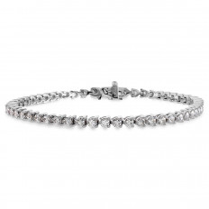 New Hearts On Fire® 3.10 CTW Diamond Select Temptation Tennis Bracelet