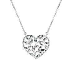 Vintage Tiffany & Co. Paloma Picasso Olive Leaf Heart Pendant