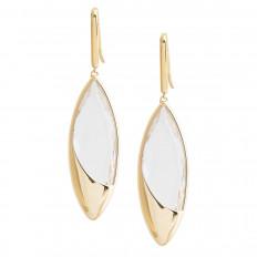 Vintage Lana Jewelry Jetset Crystal Earrings