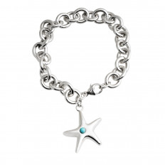 Vintage Tiffany & Co. Starfish Charm Bracelet