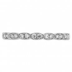 New Hearts On Fire® 0.22 CTW Diamond Lorelei Floral Band