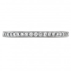 New Hearts On Fire® 0.12 CTW Diamond Signature Band