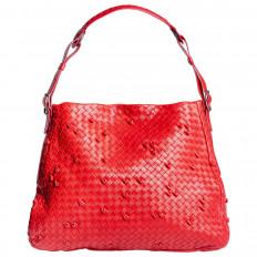 Vintage Bottega Veneta Patchwork Shoulder Bag