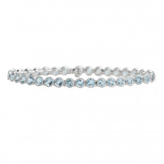 New 8.97 CTW Aquamarine Bracelet