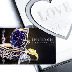 $100 Leo Hamel Fine Jewelers Gift Card