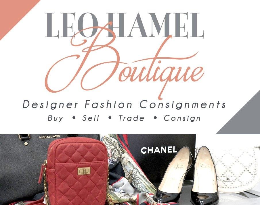 Logo Leo Hamel Boutique